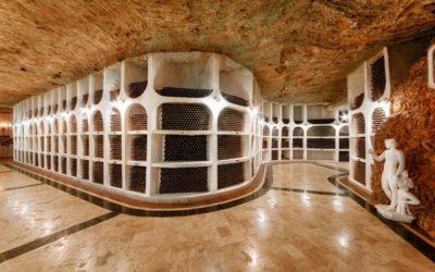 Avec 60 km de galeries et 1,3 million de bouteilles, Cricova est la plus grande cave du monde